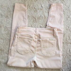 Joe's Jeans 28 Pink The High Water Skinny Pants